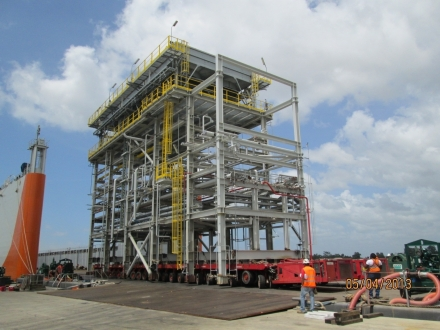 Staatsolie Refinery Expansion  Project - Suriname -  2011-2012 - DCRPROGETTI