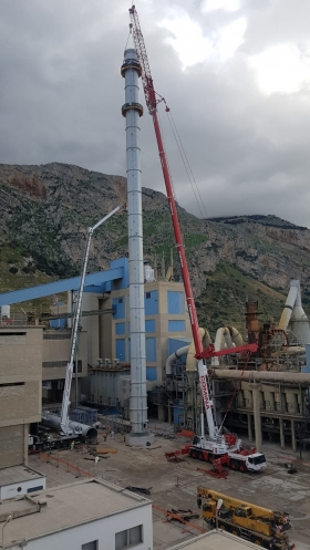 STACK AND DUCTS FOR CEMENT FACTORY - Italy - 2018-2019 - DCRPROGETTI